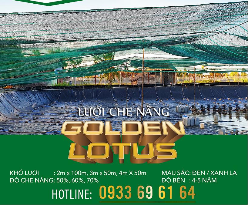 Lưới Che nắng Thái Lan Sen Vàng