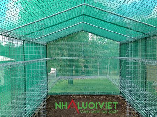 Nhà lưới trồng lan
